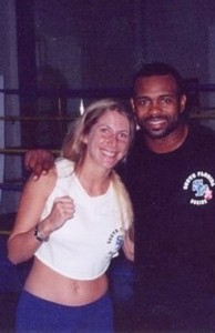 Jolie Glassman and Roy Jones Jr   @SBB