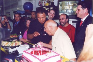 Muhammad Ali and Angelo Dundee's birthday @SBB
