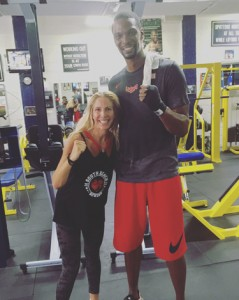 Chris Bosh & Jolie Glassman