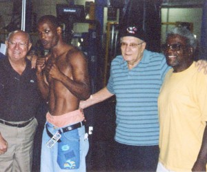 Bernard Hopkins, Angelo Dundee and team @SBB