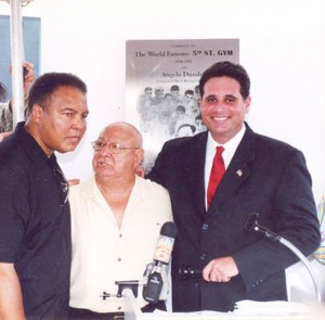 Muhammed Ali, Angelo Dundee and former Miami Beach Mayor David Dermer Press Conference @SBB