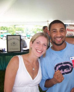 Jolie Glassman and Diego Corrales