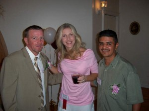 Mickey Ward, Jolie Glassman and Michael Carbajal
