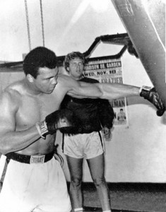 Muhammad Ali and former Miami Beach Mayor Alex Daoud