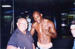 Angelo Dundee and Bernard Hopkins @SBB