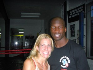 "Jolie Glassman and Chad ""Ocho Cinco"" Johnson @SBB"