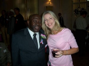 Emile Griffith and Jolie Glassman
