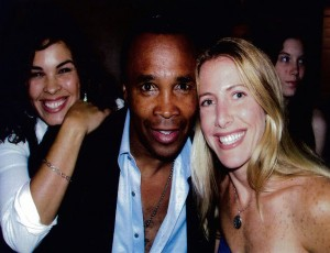 Sugar Ray Leonard and Jolie Glassman