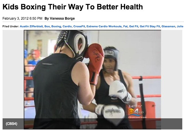 kids boxing