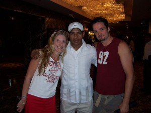 Jolie Glassman and Ricardo Mayorga