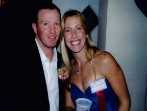 Mickey Ward and Jolie Glassman