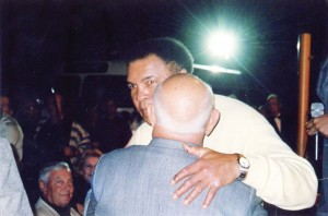 Muhammad Ali and Angelo Dundee