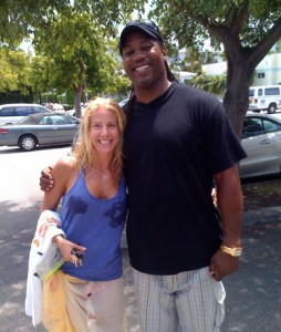 Lennox Lewis and Jolie Glassman