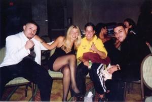 Lou Del Valle, Jolie Glassman and Melissa Salamone