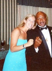 "Jolie Glassman and ""Marvelous"" Marvin Hagler"
