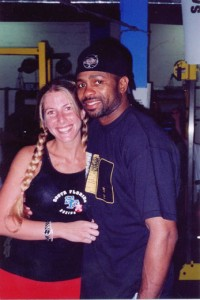 Jolie Glassman and Roy Jones Jr. @SBB
