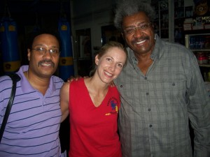 Carl King, Jolie Glassman and Don King @SBB