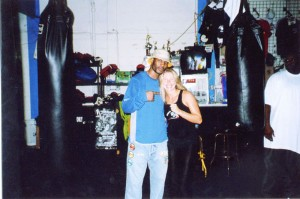 Bernard Hopkins and Jolie Glassma @SBB