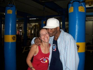 Bernard Hopkins and Jolie Glassman @SBB