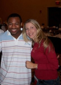 """Sugar"" Shane Mosley and Jolie Glassman"