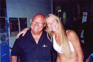 Angelo Dundee and Jolie Glassman @SBB