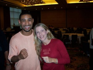 Diego Corrales and Jolie Glassman