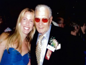 Jolie Glassman and Boxing Historian Hank Kaplan