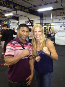 Yuriorkis Gamboa and Jolie Glassman  @SBB